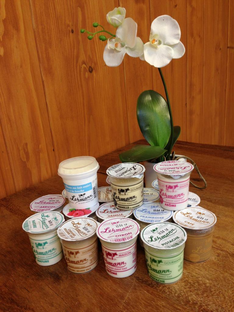 Nos Crèmes Dessert, Yaourts et Fromages Blancs